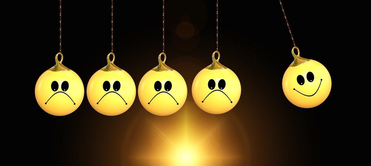 Negative Gedanken ins Positive umwandeln - 10x Dreh - schnell, einfach